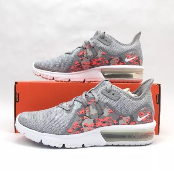 8fe51c3975 Nike Shoes | Air Max Sequent 3 Camo Aj0005101 Running Shoe | Poshmark